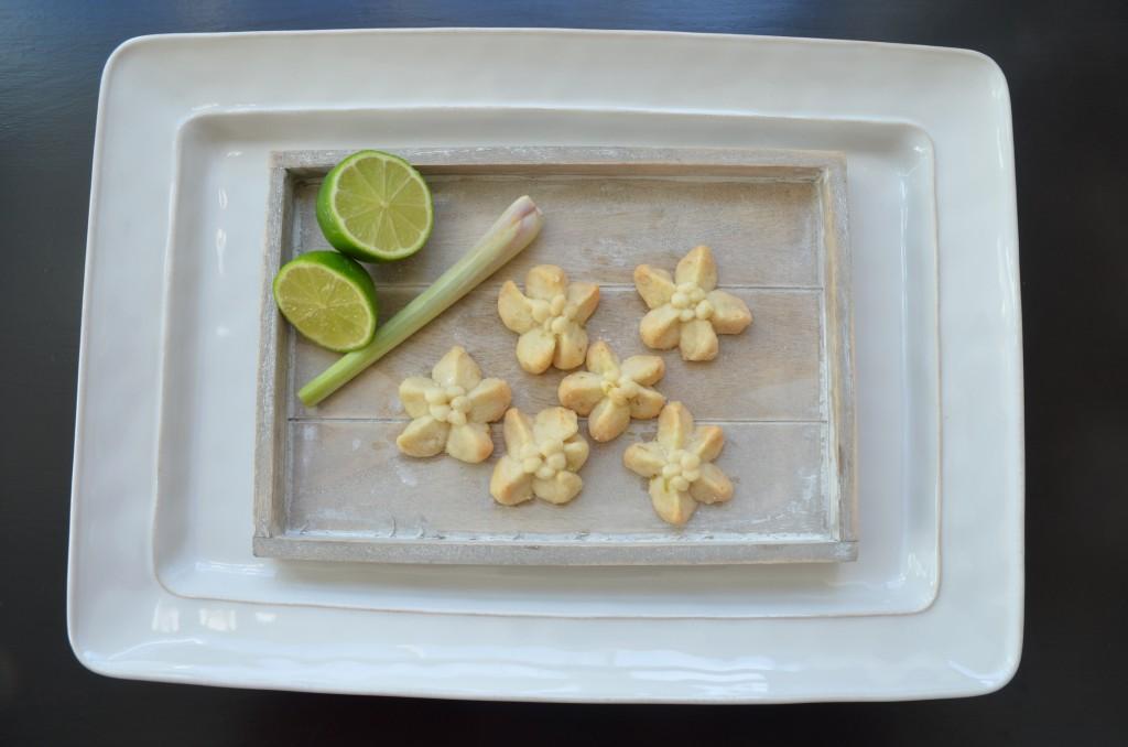 Kleeb lamduan met citroengras en limoen