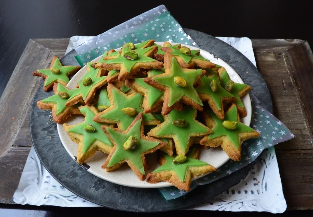 kerstster koekje