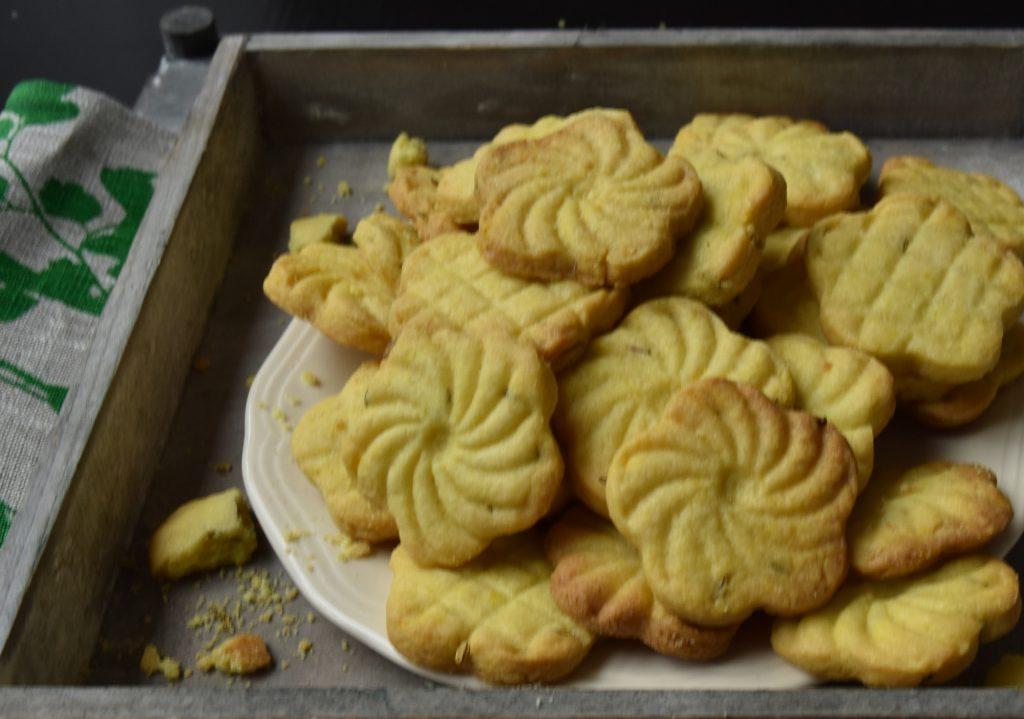 Venkel kurkuma koekje jeera koekje variatie