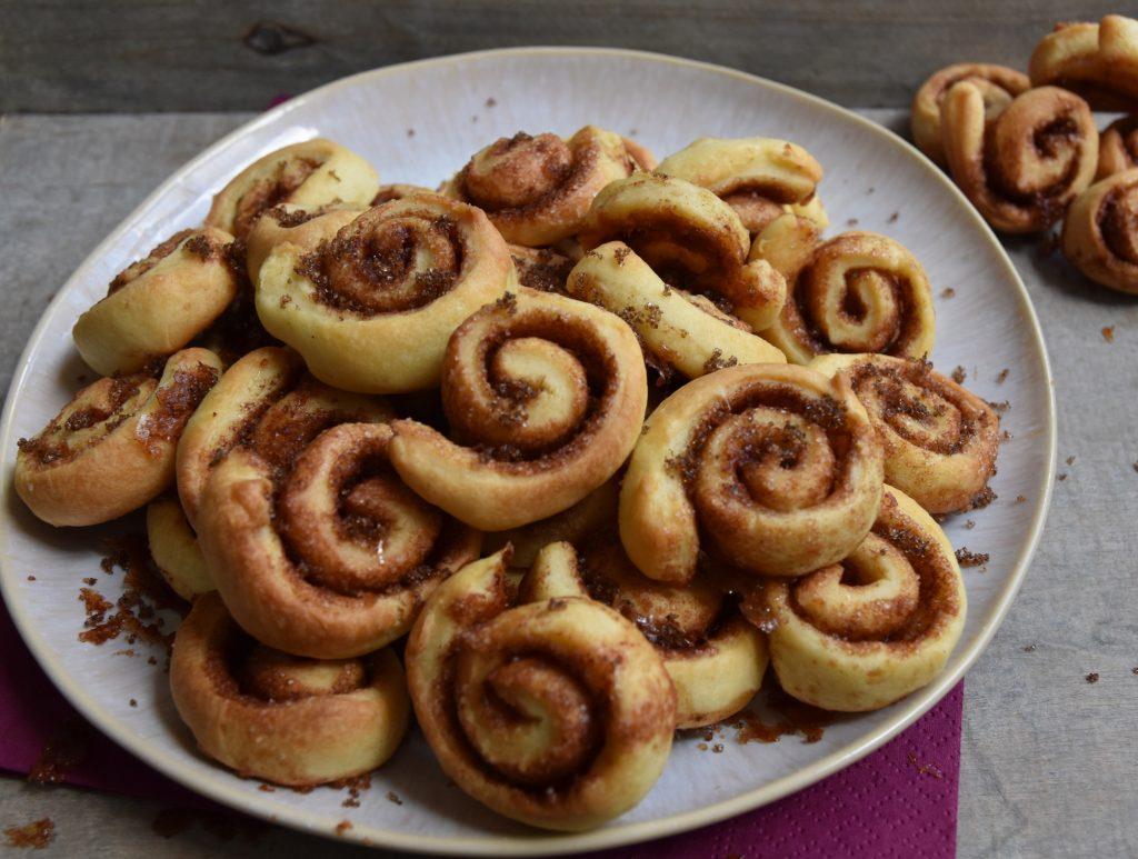 Cinnamon roll koekje